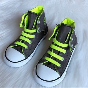 Converse Easy High Top Sneaker No Lace Slip-ons 9